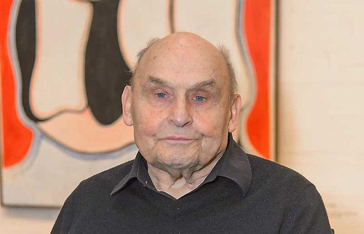Künstler Oswald Oberhuber 88-jährig gestorben